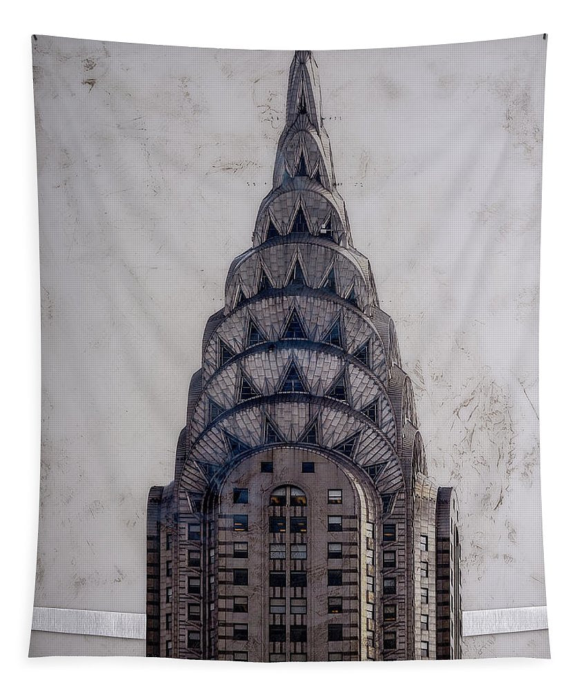 Chrysler Building - Tapestry - SEVENART STUDIO