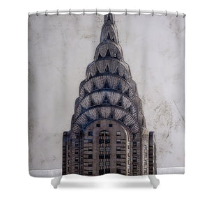 Chrysler Building - Shower Curtain - SEVENART STUDIO