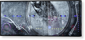 Dj Vision Mix - Canvas Print - SEVENART STUDIO