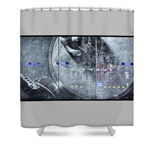 Dj Vision Mix - Shower Curtain - SEVENART STUDIO