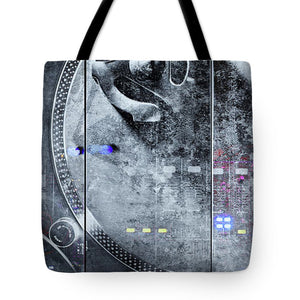 Dj Vision Mix - Tote Bag - SEVENART STUDIO