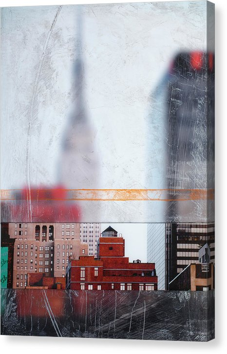 Empire State Blur - Canvas Print - SEVENART STUDIO