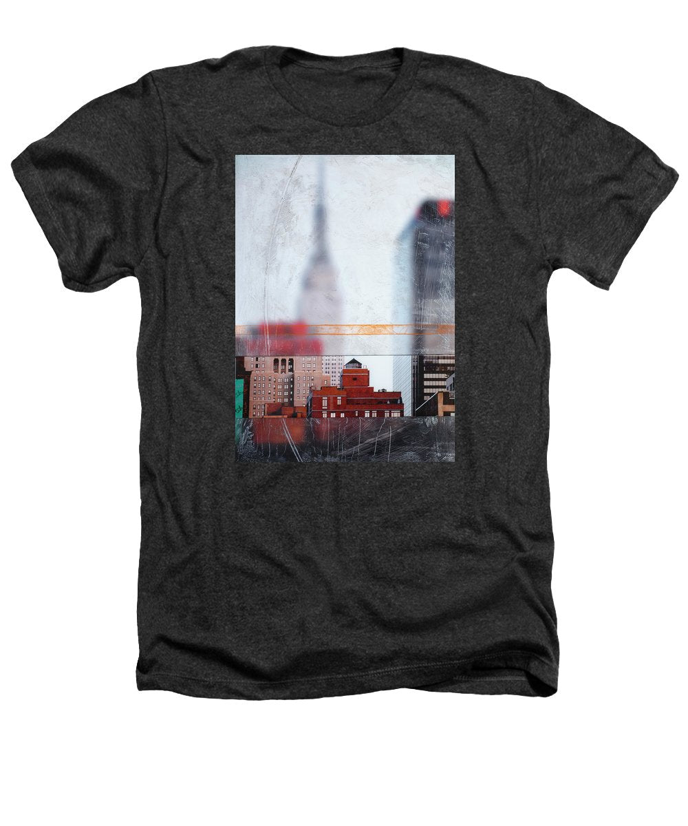 Empire State Blur - Heathers T-Shirt - sevenart-studio