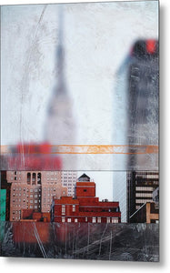 Empire State Blur - Metal Print - SEVENART STUDIO