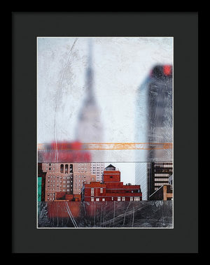 Empire State Blur - Framed Print - SEVENART STUDIO