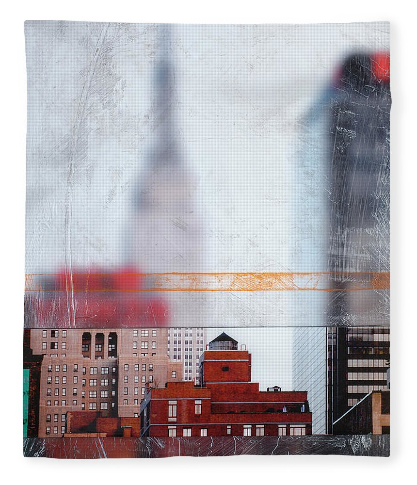 Empire State Blur - Blanket - SEVENART STUDIO