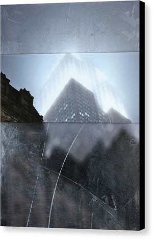 Empire State Fog - Canvas Print - SEVENART STUDIO