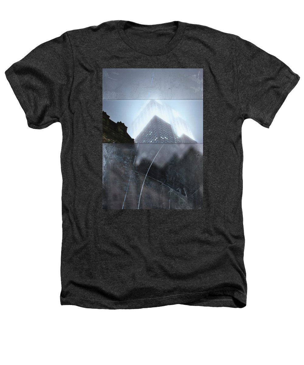 Empire State Fog - Heathers T-Shirt - SEVENART STUDIO