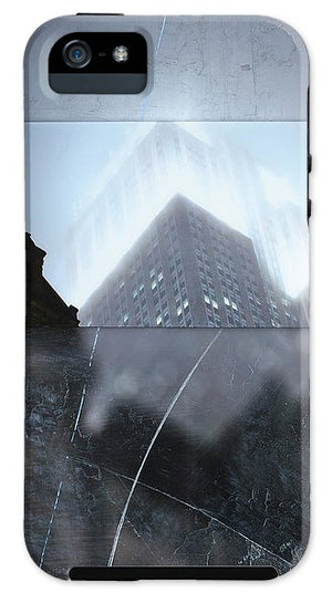 Empire State Fog - Phone Case - SEVENART STUDIO