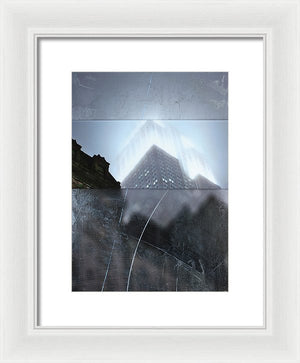 Empire State Fog - Framed Print - sevenart-studio