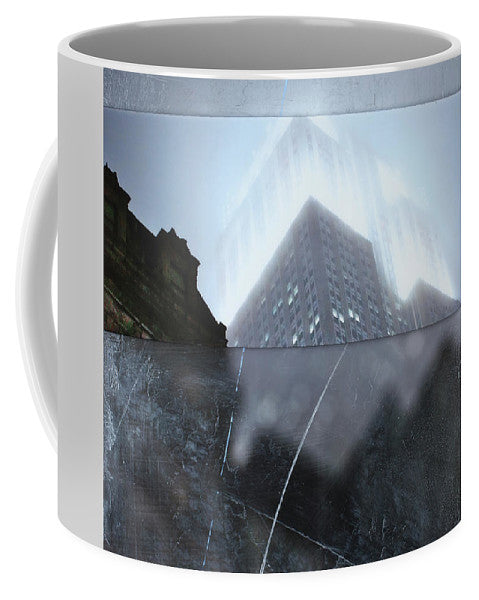 Empire State Fog - Mug - SEVENART STUDIO
