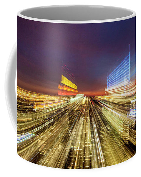 Flying Over New York  - Mug - sevenart-studio