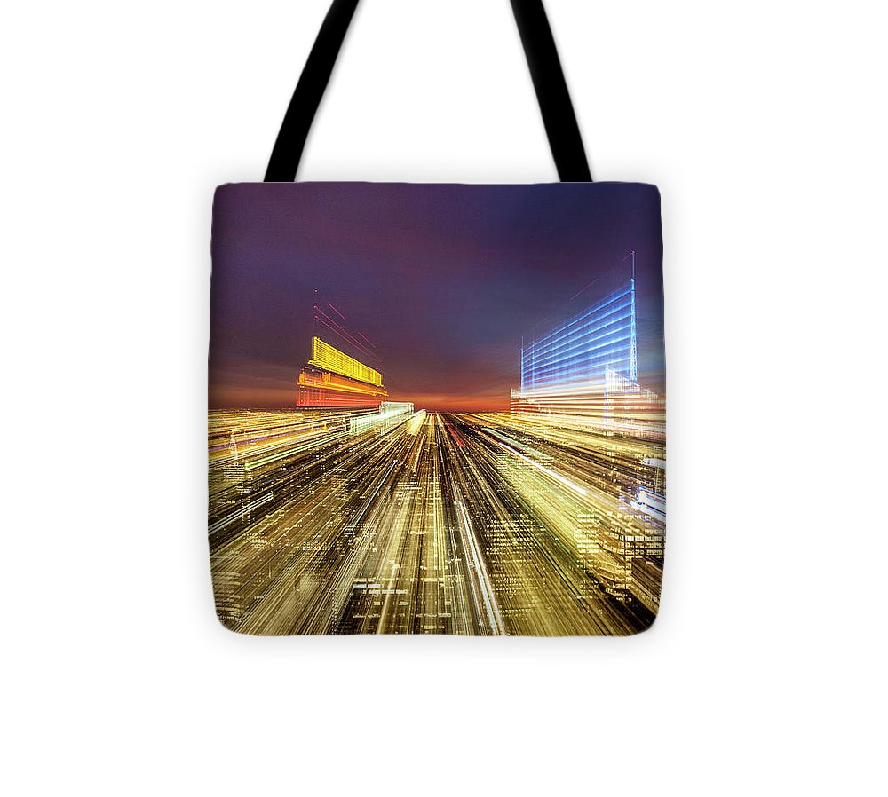 Flying Over New York  - Tote Bag - sevenart-studio