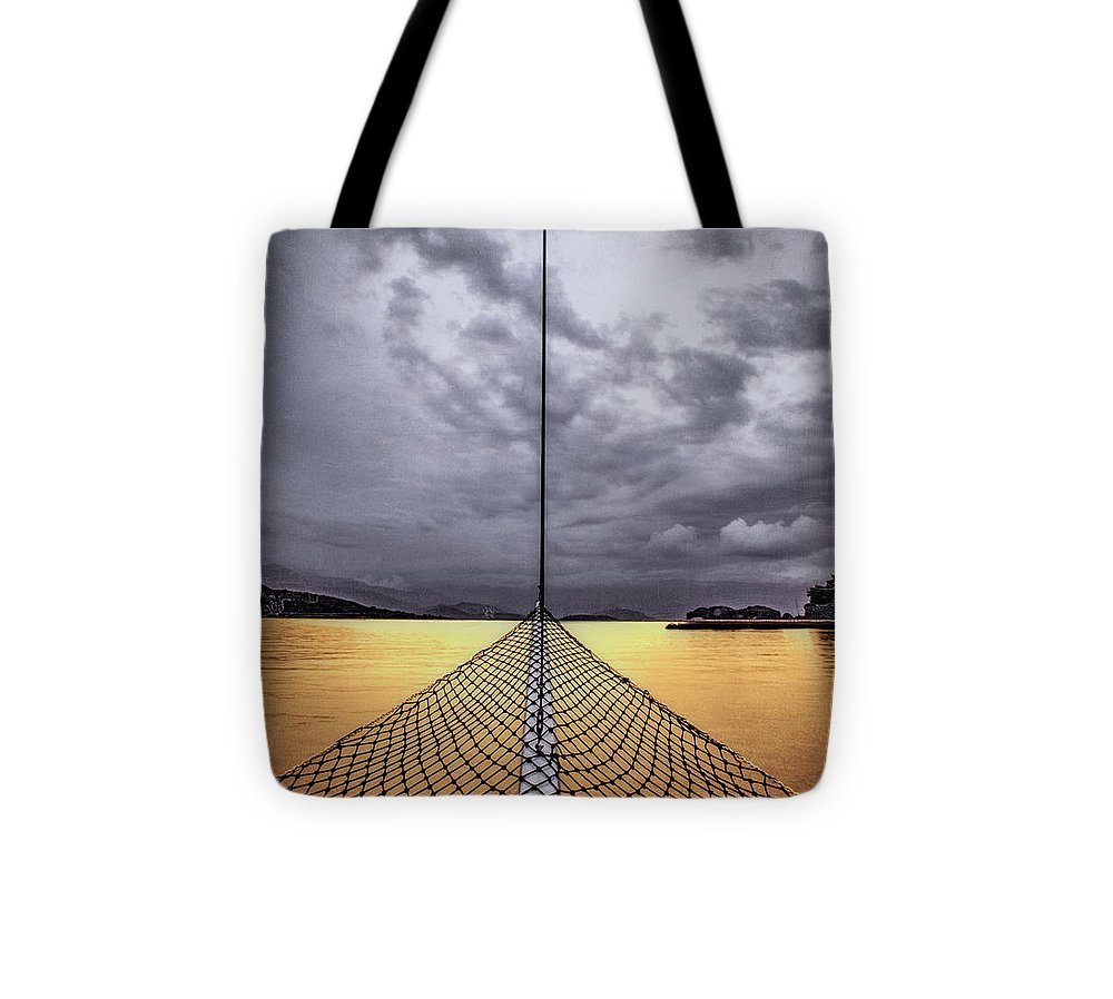 Golden Sail - Tote Bag - SEVENART STUDIO