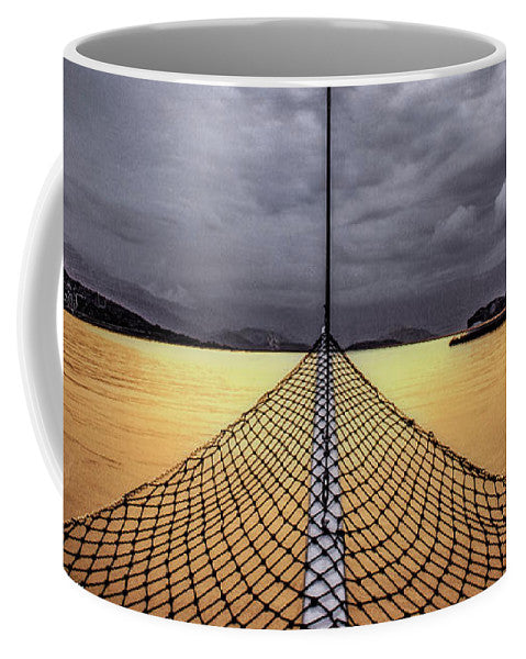 Golden Sail - Mug - SEVENART STUDIO