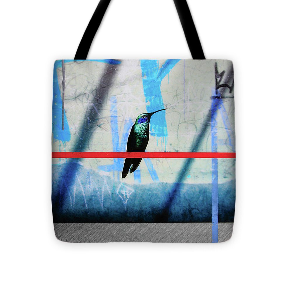 Humming Bird Grafitti - Tote Bag - sevenart-studio