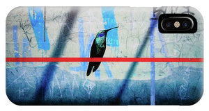 Humming Bird Grafitti - Phone Case - SEVENART STUDIO