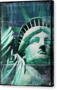 Lady Liberty - Canvas Print - SEVENART STUDIO