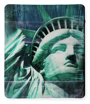Lady Liberty - Blanket - SEVENART STUDIO