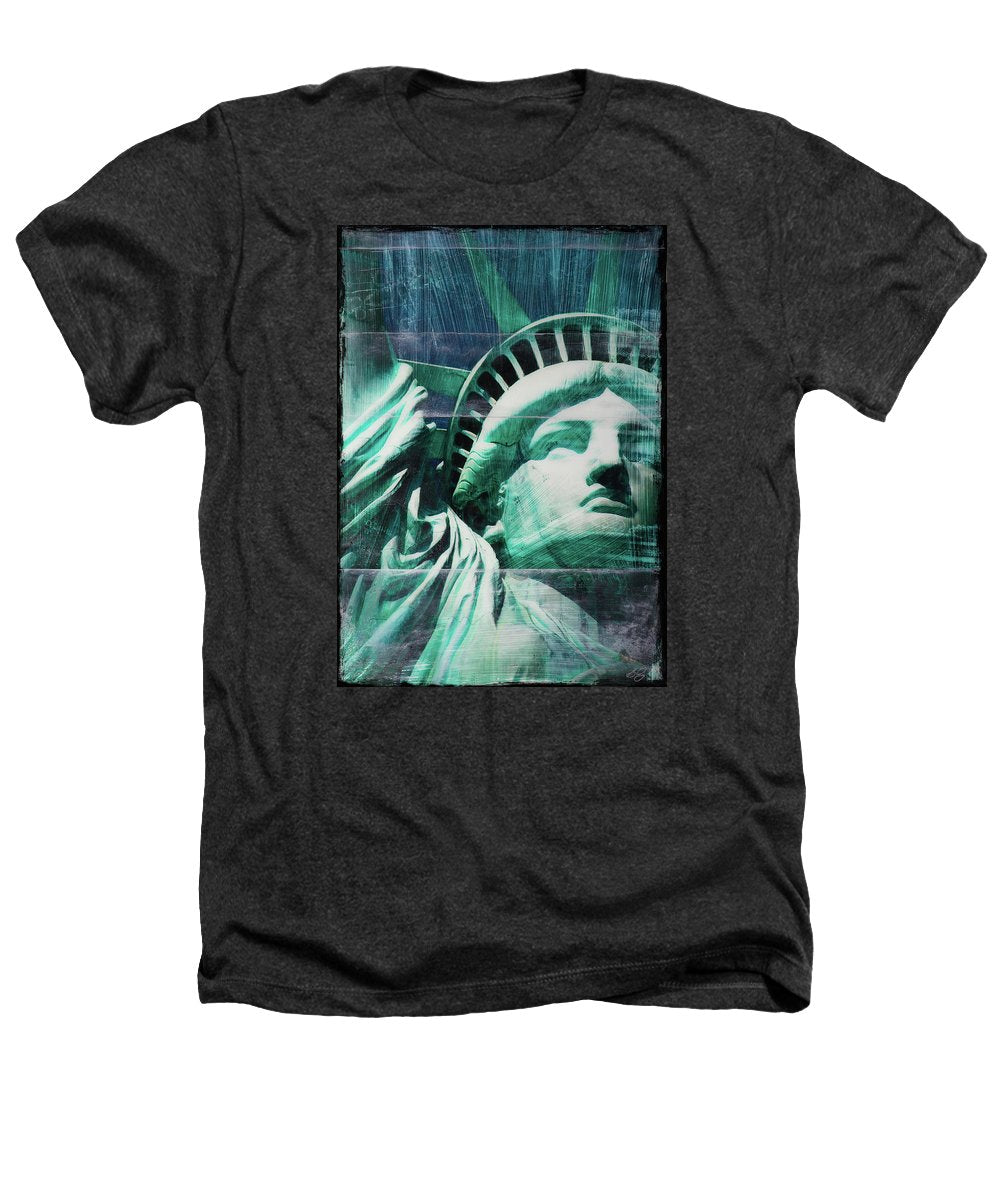 Lady Liberty - Heathers T-Shirt - SEVENART STUDIO