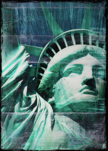 Lady Liberty - Art Print - SEVENART STUDIO
