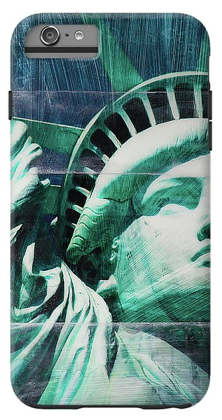 Lady Liberty - Phone Case - sevenart-studio