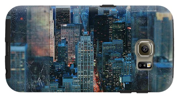 Manhattan At Night - Phone Case - SEVENART STUDIO