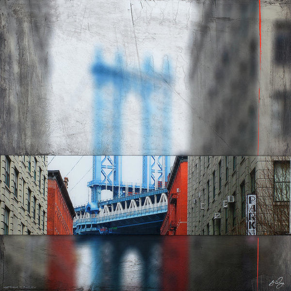 Manhattan Blur - Art Print - SEVENART STUDIO