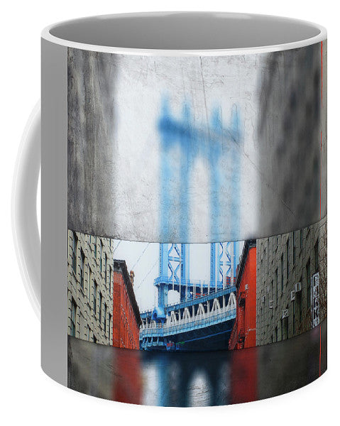 Manhattan Blur - Mug - SEVENART STUDIO