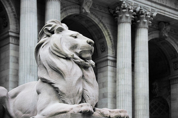 New York Lion - Art Print - sevenart-studio