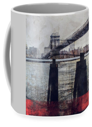 New York Pier - Mug - sevenart-studio