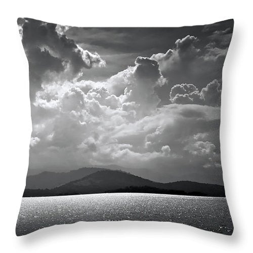 Paraty Brazil - Throw Pillow - sevenart-studio