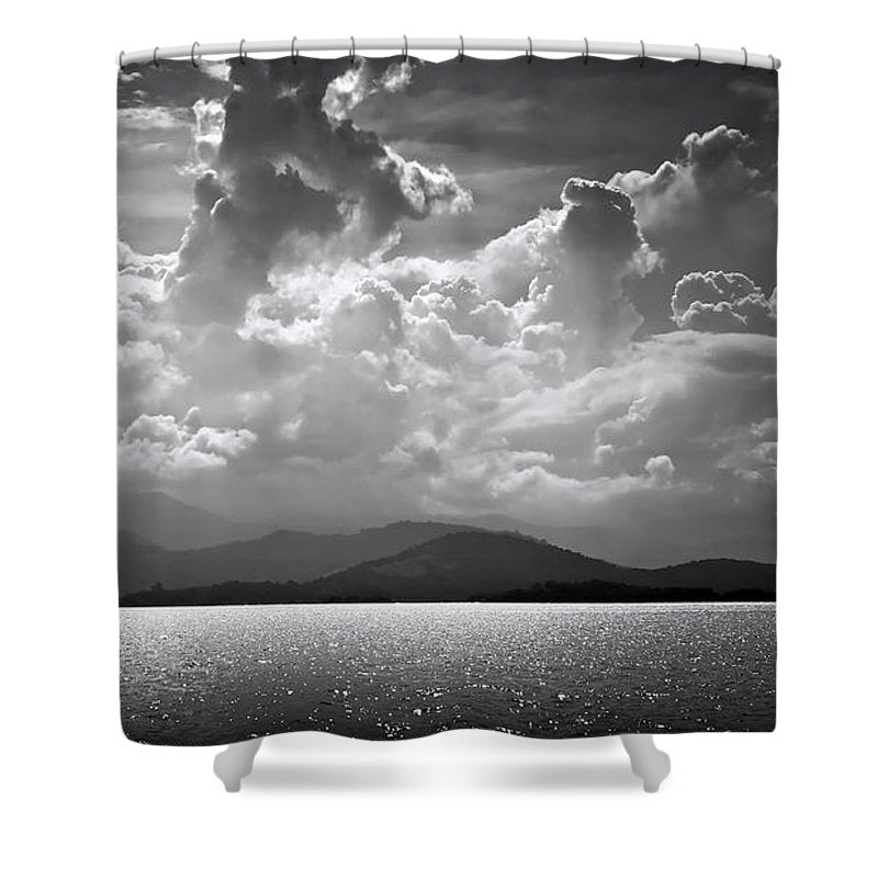 Paraty Brazil - Shower Curtain - sevenart-studio