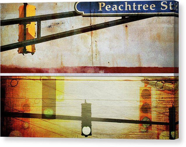 Peachtree Street - Canvas Print