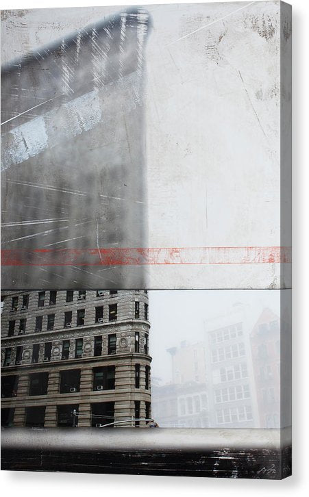 Perect Timimg Flatiron - Canvas Print - sevenart-studio