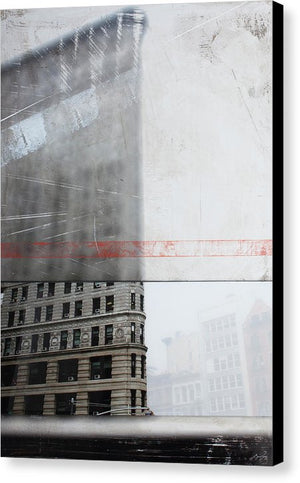 Perect Timimg Flatiron - Canvas Print - SEVENART STUDIO