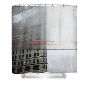 Perect Timimg Flatiron - Shower Curtain - sevenart-studio