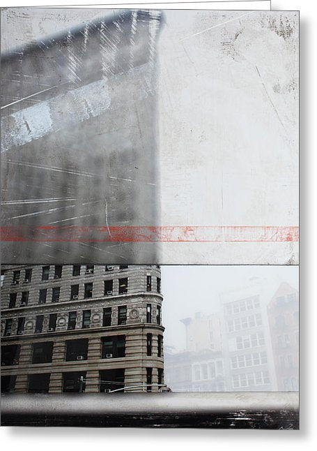 Perect Timimg Flatiron - Greeting Card - SEVENART STUDIO
