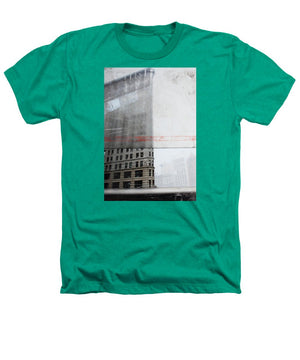 Perect Timimg Flatiron - Heathers T-Shirt - SEVENART STUDIO