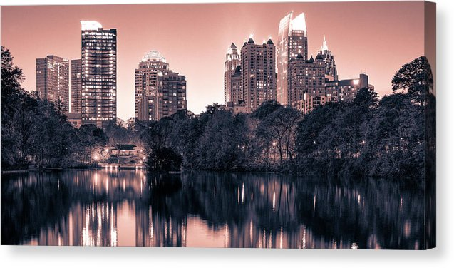 Reflecting Atlanta - Canvas Print - sevenart-studio