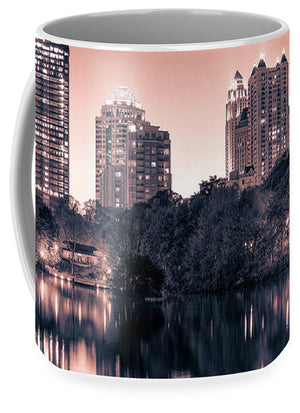 Reflecting Atlanta - Mug - SEVENART STUDIO