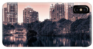 Reflecting Atlanta - Phone Case - SEVENART STUDIO