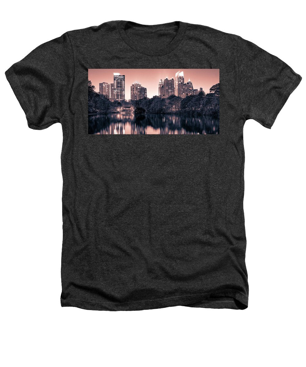Reflecting Atlanta - Heathers T-Shirt - SEVENART STUDIO