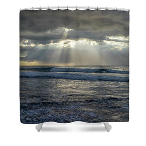 Rincon - Shower Curtain - SEVENART STUDIO