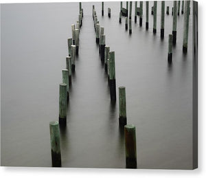 Still Pier - Canvas Print - SEVENART STUDIO