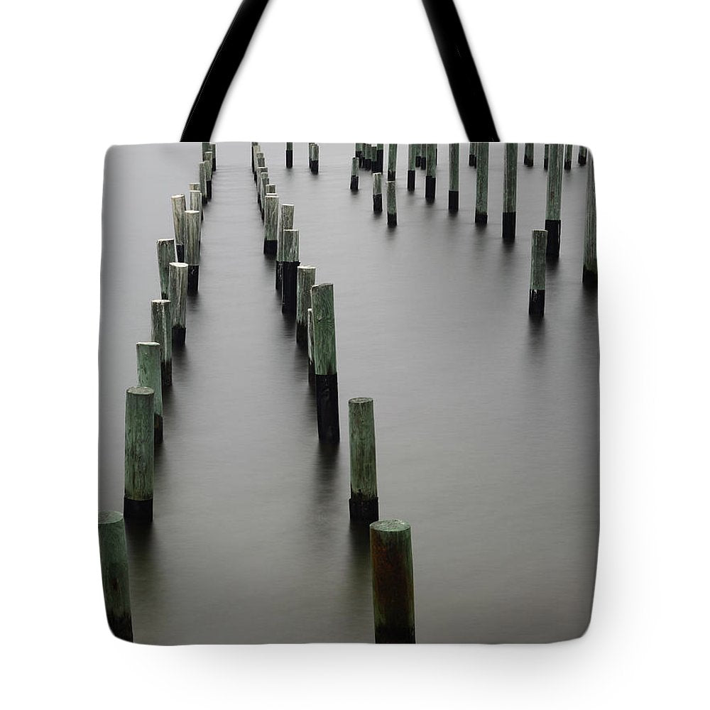 Still Pier - Tote Bag - SEVENART STUDIO