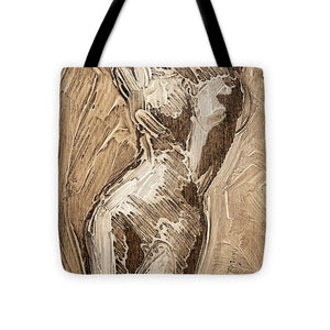 Visceral Movement - Tote Bag - SEVENART STUDIO