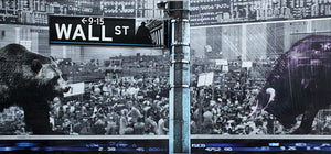 Wall Street - Art Print - sevenart-studio