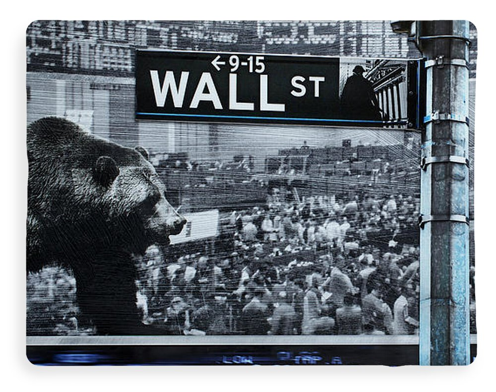 Wall Street - Blanket - SEVENART STUDIO