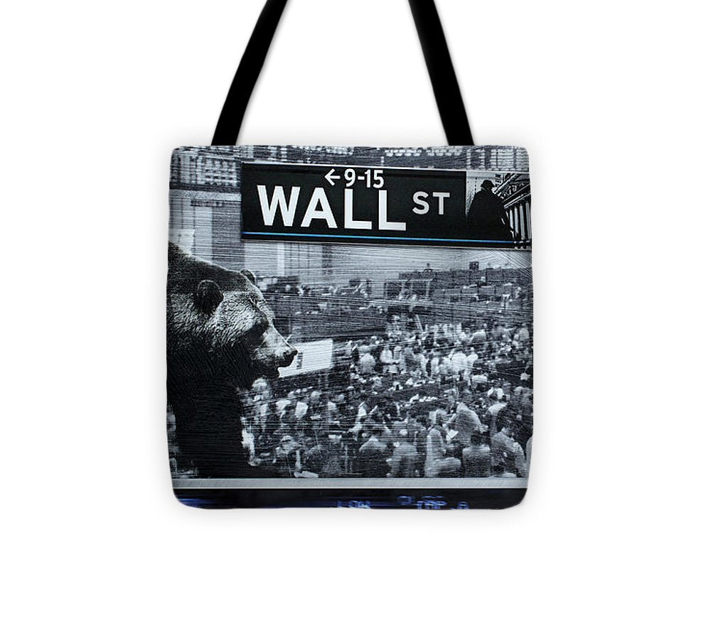 Wall Street - Tote Bag - sevenart-studio